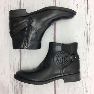TOMMY HILFIGER  Black ankle boot size 7.5 NWOT